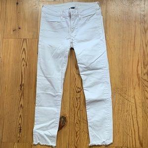 White dressy skinny jeans